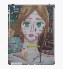 'Game Over' Gaming Illustration iPad Case/Skin