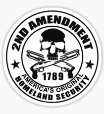 2nd Ammendment Sticker