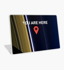 You are here - Pale Blue Dot Laptop Skin