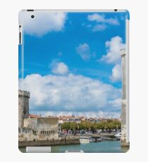 Towers of ancient fortress of La Rochelle France iPad Case/Skin