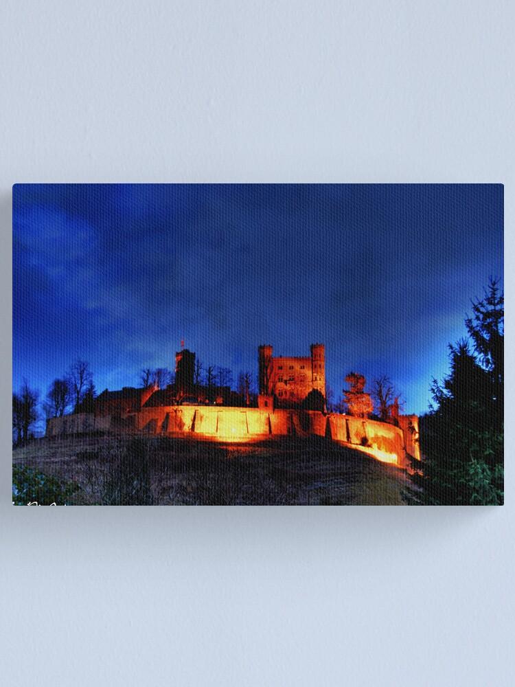 Alternate view of Schloss Ortenberg Canvas Print