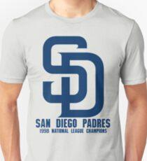 San Diego Padres 1998 National League Champions Unisex T-Shirt