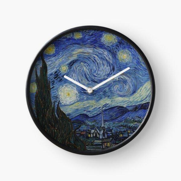 Starry Night - Van Gogh Clock