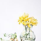 Yellow flowers and fruits by AdrianaMijaiche