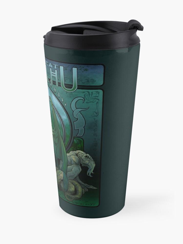 Alternate view of The Great Cthulhu Travel Mug