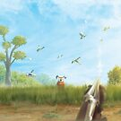 Fly Away (Only 35 prints!) by orioto