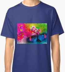 Butterfly Color Explosion Classic T-Shirt