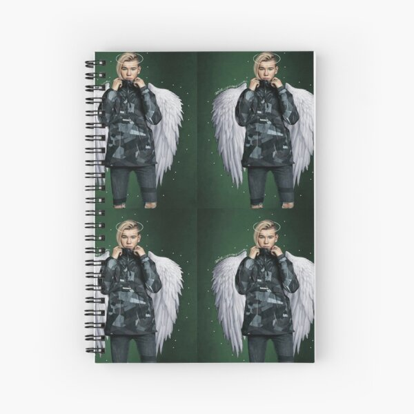 Marcus and Martinus Spiral Notebook