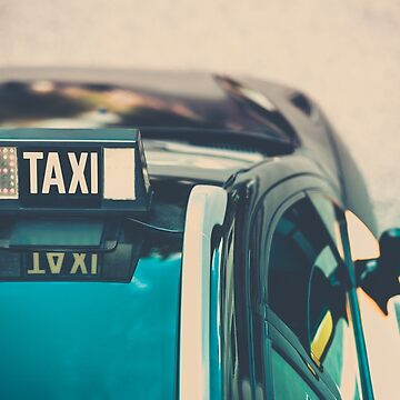 Vacant taxi detail by dvoevnore