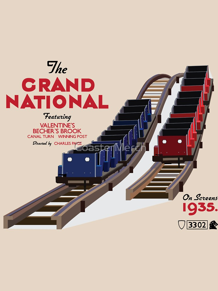 The Grand National - Movie Poster Style by CoasterMerch