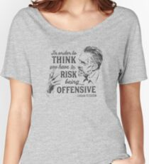Jordan Peterson Illustration and Quote Women's Relaxed Fit T-Shirt