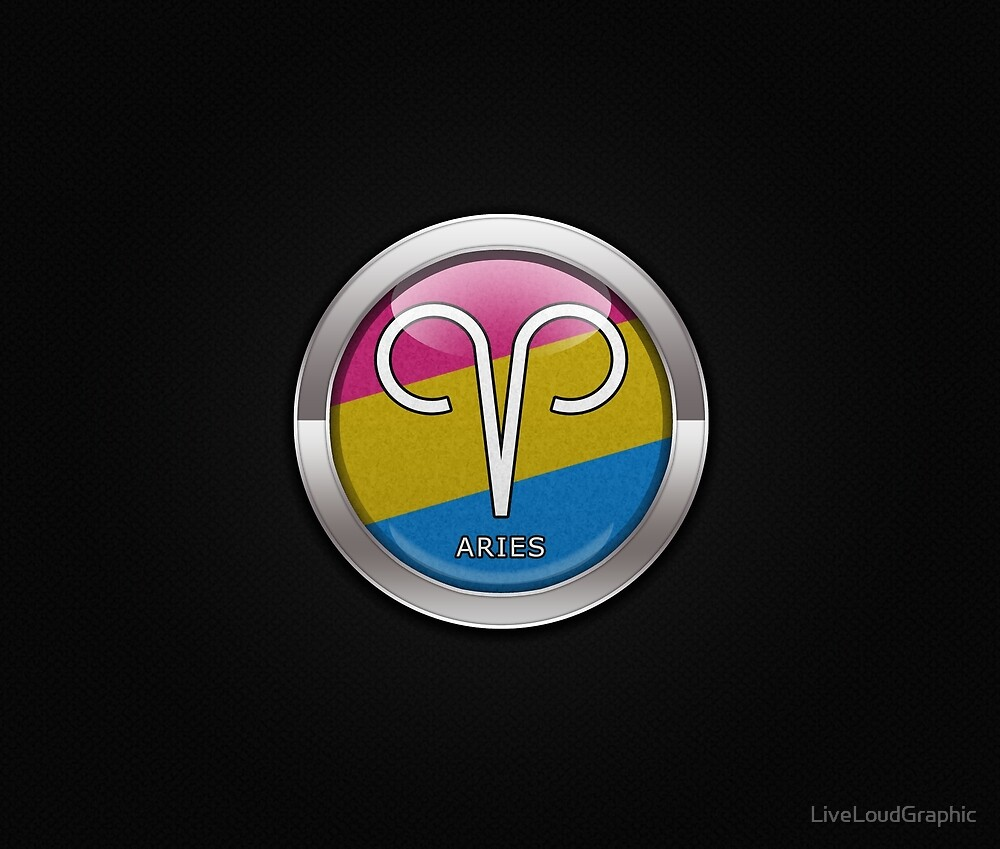 Pansexual Aries by LiveLoudGraphic