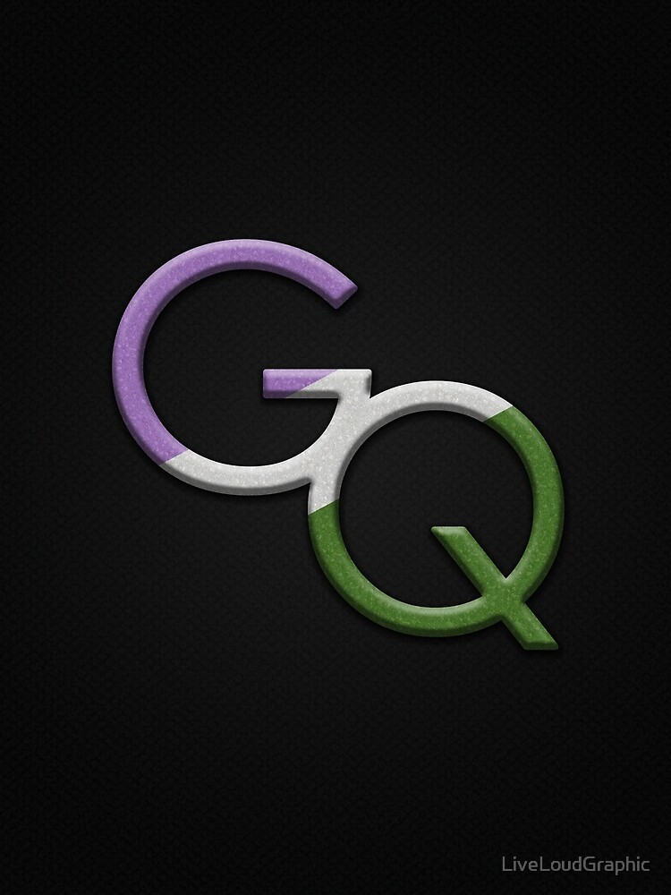Genderqueer Symbol by LiveLoudGraphic