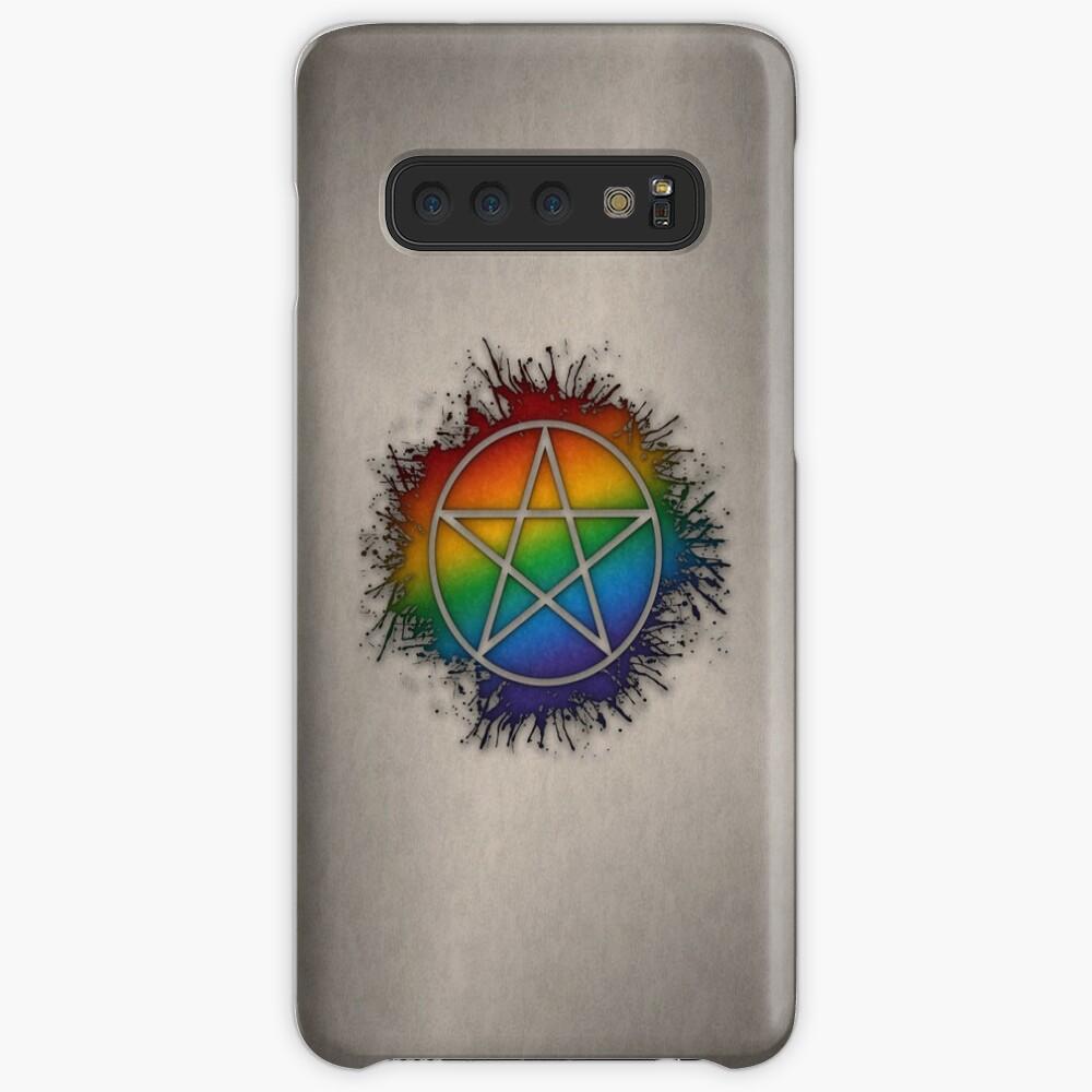 Rainbow Pentacle Case & Skin for Samsung Galaxy