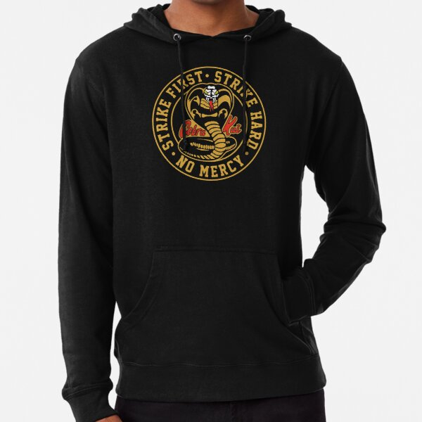 Cobra Kai 2 - (Dark t-shirt only) Lightweight Hoodie
