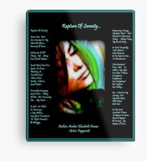 Rapture Of Serenity... Metal Print