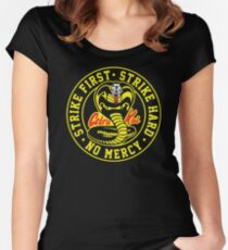 Cobra Kai 3 Women's Fitted Scoop T-Shirt