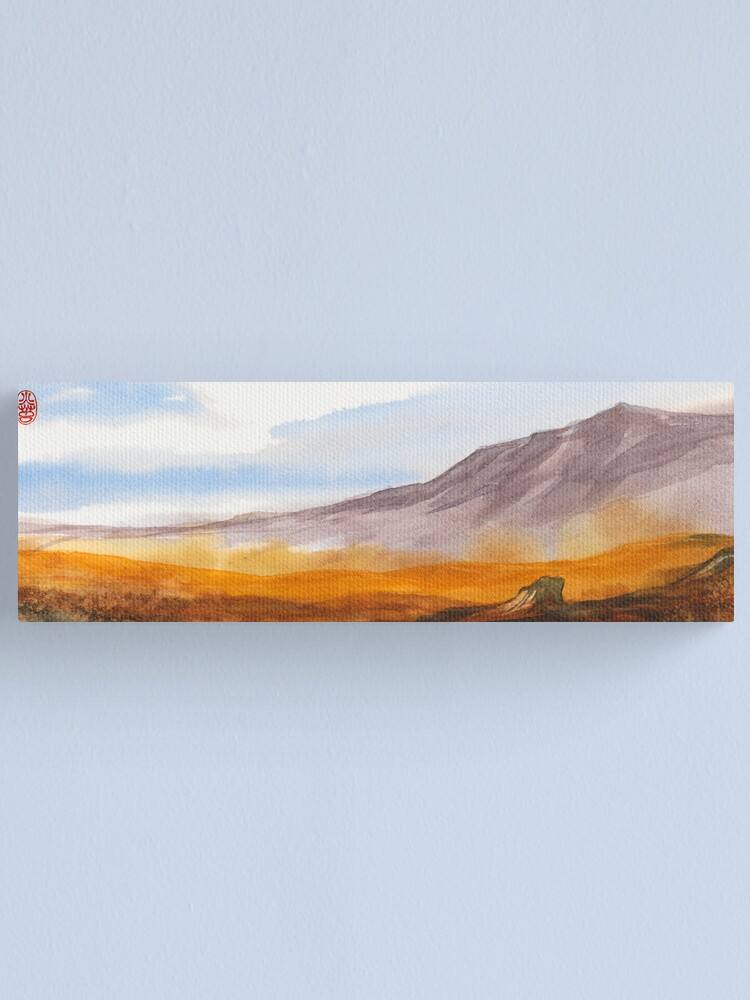Alternate view of Yellow Fields Canvas Print