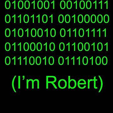 Binary Code Name by fotokatt