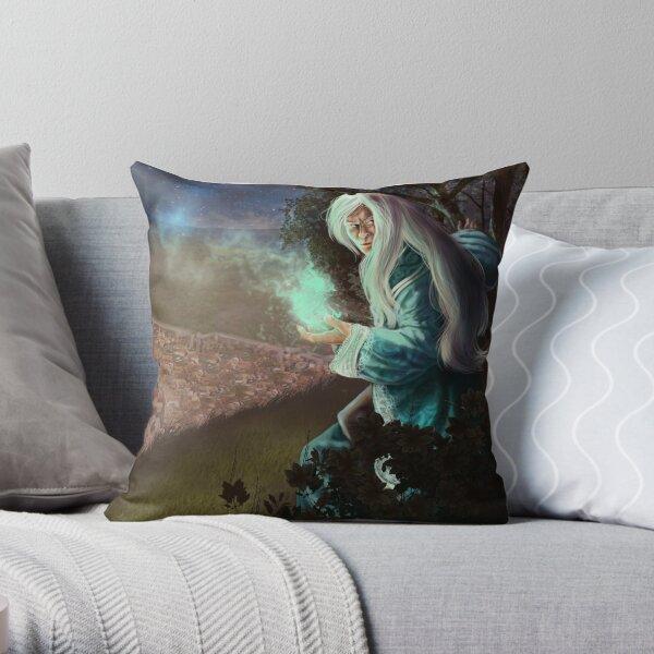 Keeper of Secrets Throw Pillow