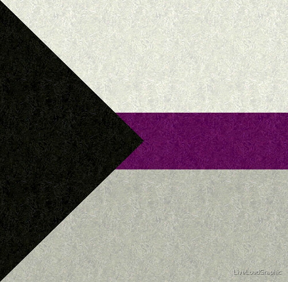 Demisexual Flag by LiveLoudGraphic
