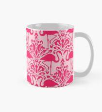 Flamingo Damask Pink Mug