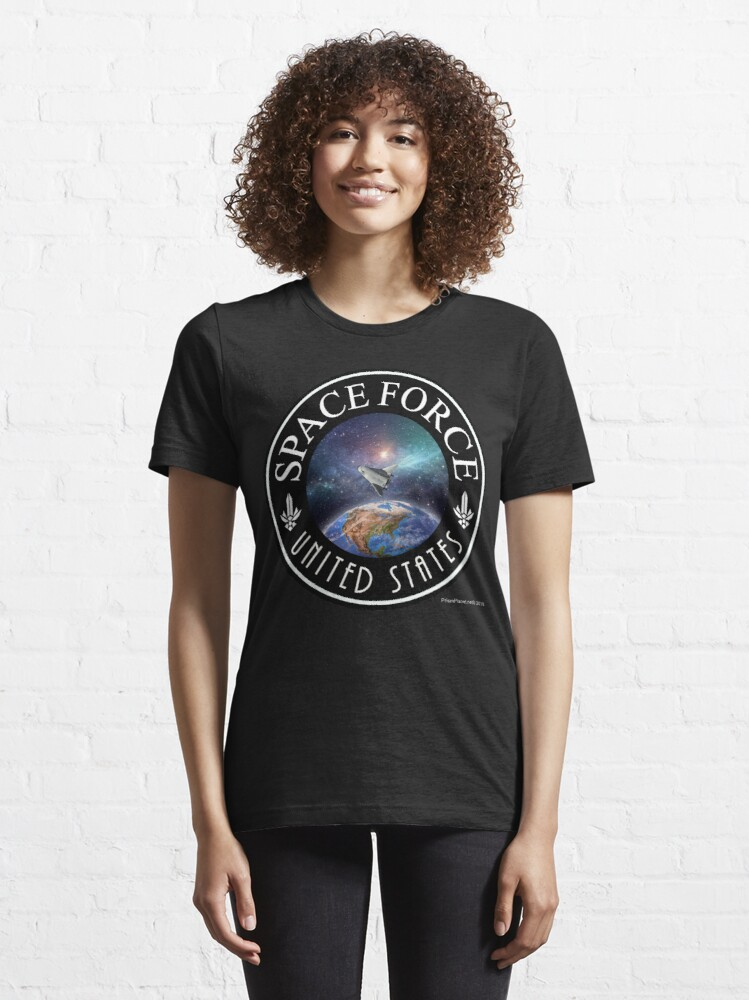 Alternate view of Space Force Essential T-Shirt