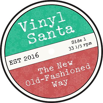 Vinyl Santa by andrewalcock