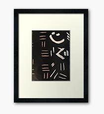 African print-Mudcloth-African clothes-African Home Decor-Women t-shirt-Men t-shirt-Coffee mugs Framed Print