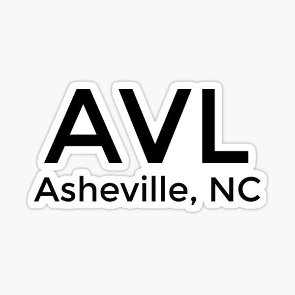 Asheville, NC Sticker