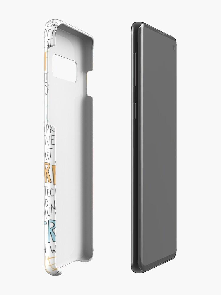 Alternate view of Dizzy Wright Case & Skin for Samsung Galaxy