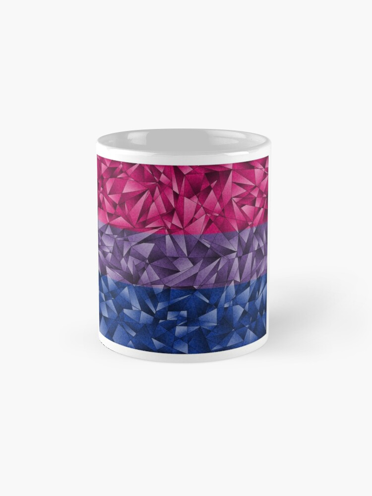 Alternate view of Abstract Bisexual Flag Mug