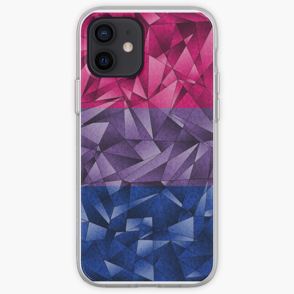 Abstract Bisexual Flag iPhone Case & Cover
