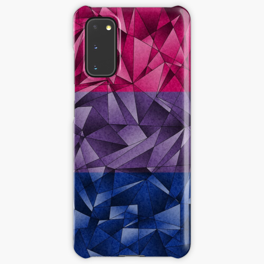 Abstract Bisexual Flag Case & Skin for Samsung Galaxy