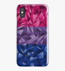 Abstract Bisexual Flag iPhone Case