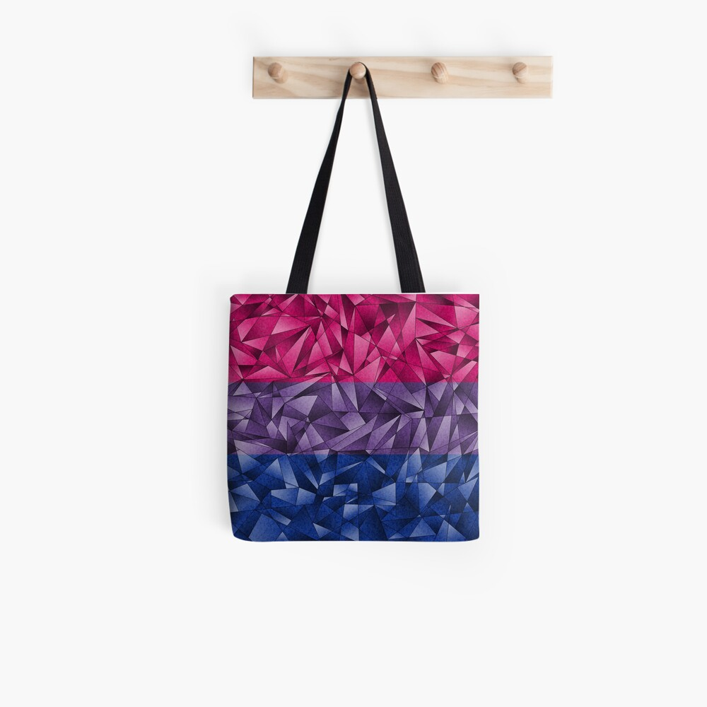 Abstract Bisexual Flag Tote Bag