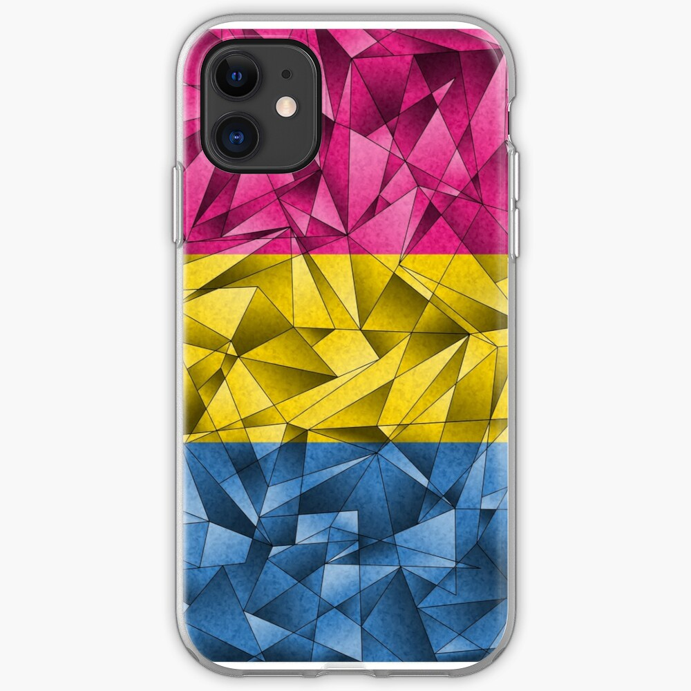Abstract Pansexual Flag iPhone Case & Cover