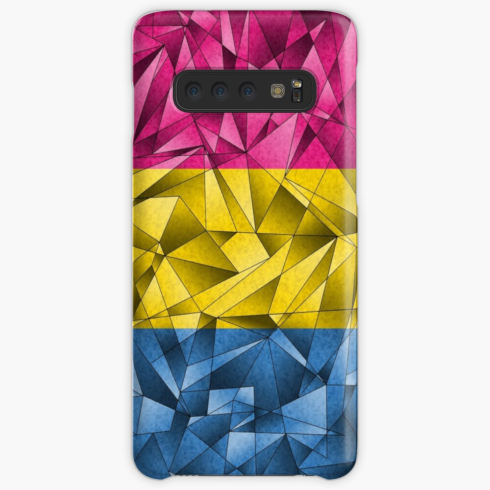 Abstract Pansexual Flag Case & Skin for Samsung Galaxy