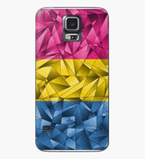 Abstract Pansexual Flag Case/Skin for Samsung Galaxy