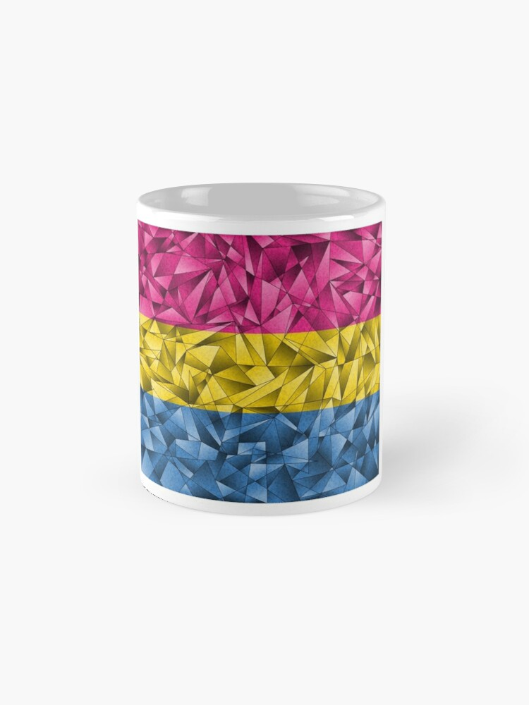 Alternate view of Abstract Pansexual Flag Mug