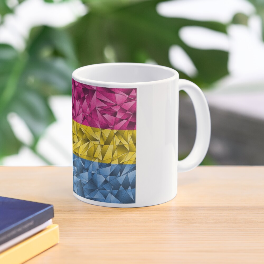 Abstract Pansexual Flag Mug