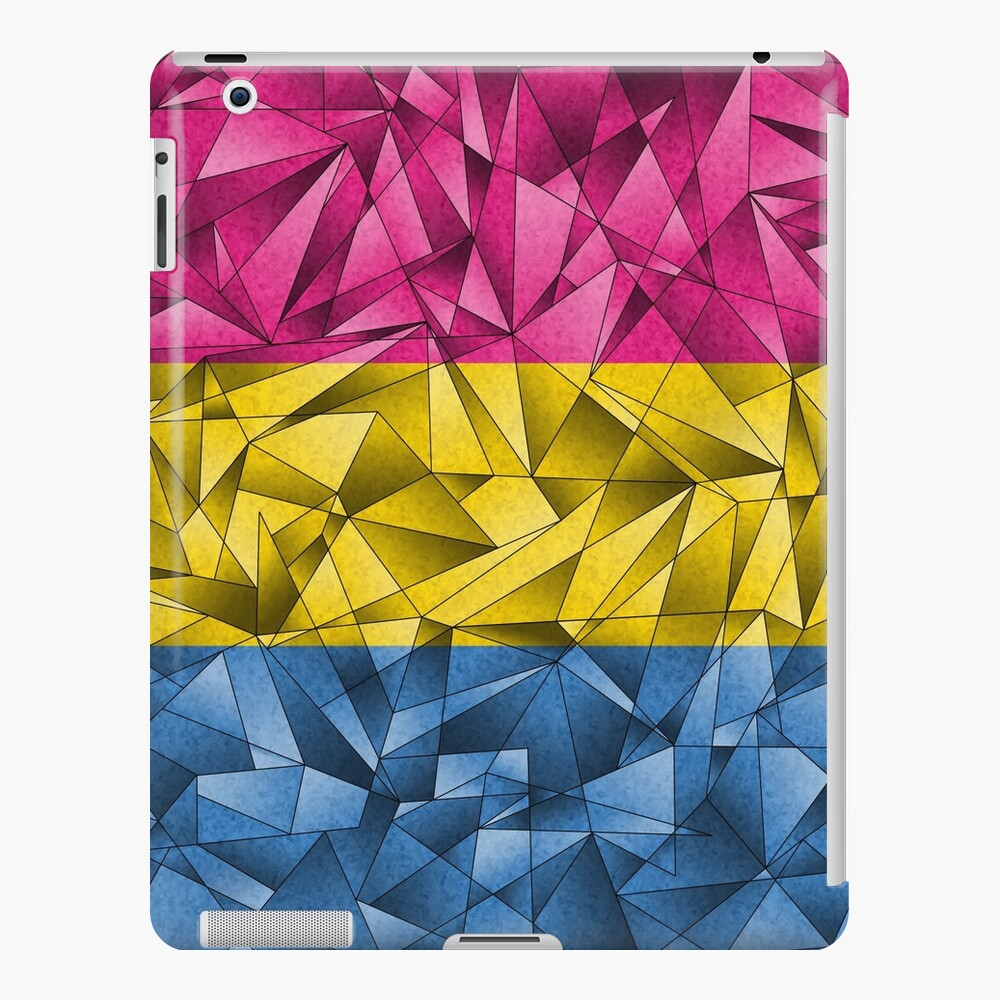 Abstract Pansexual Flag iPad Case & Skin