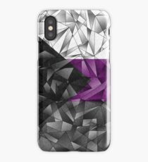 Abstract Demisexual Flag iPhone Case