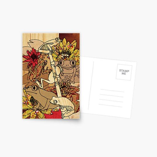 vintage frog Postcard