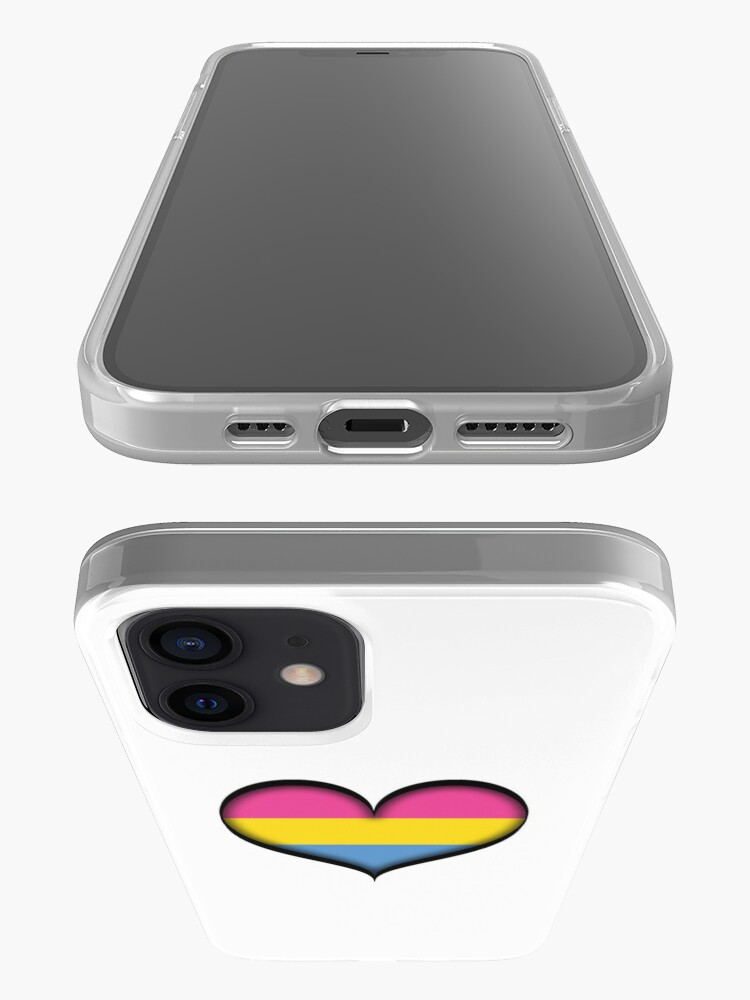 Alternate view of Pansexual Heart iPhone Case & Cover