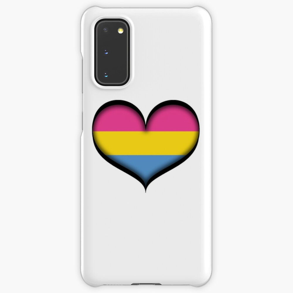 Pansexual Heart Case & Skin for Samsung Galaxy