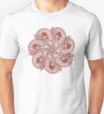 Seven Organic Arms Pods Seeds and Leaf Unisex T-Shirt
