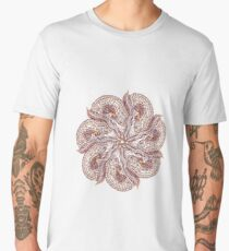 Seven Organic Arms Pods Seeds and Leaf Men's Premium T-Shirt
