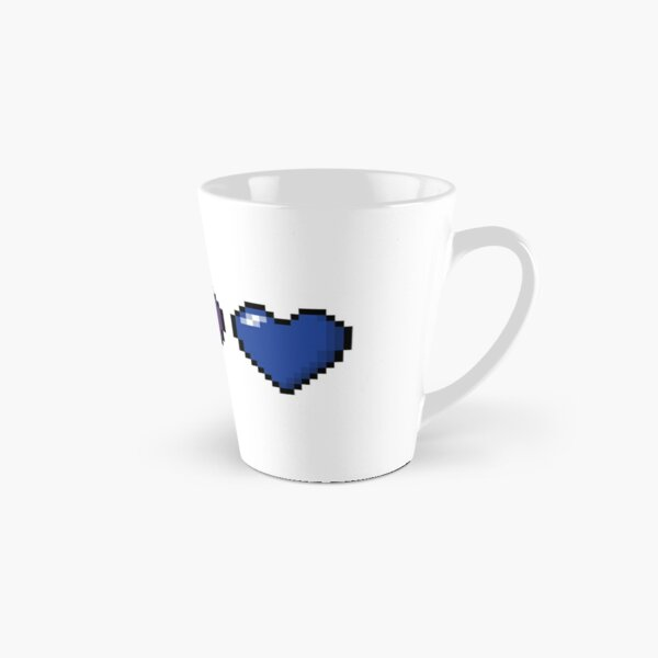 Bisexual Pixel Hearts Tall Mug