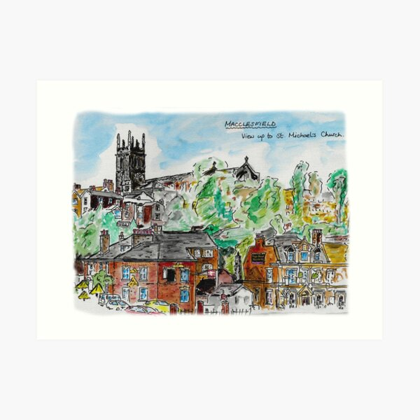 Macclesfield Art Print